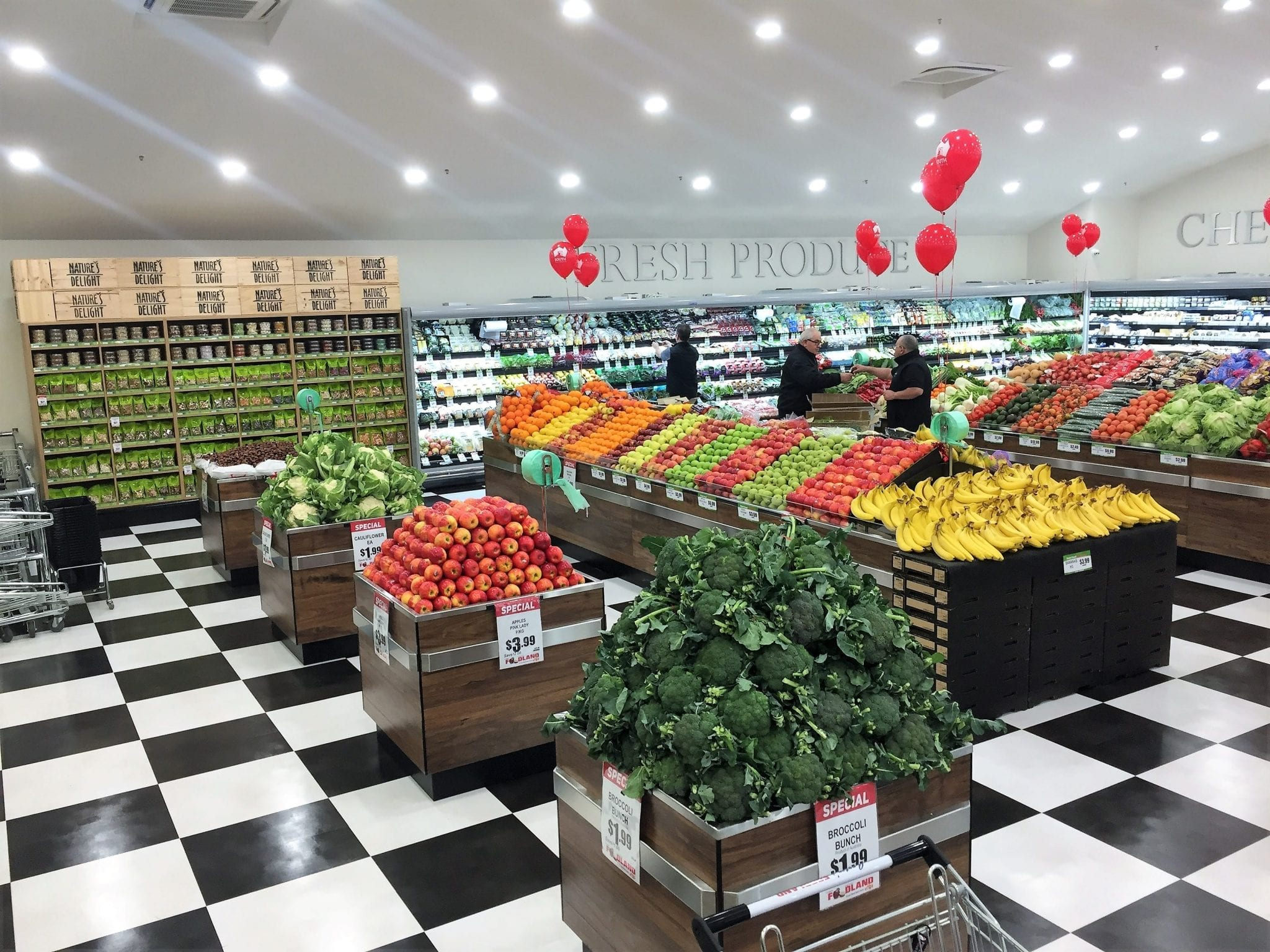 In store Fruit and Veg - IPS