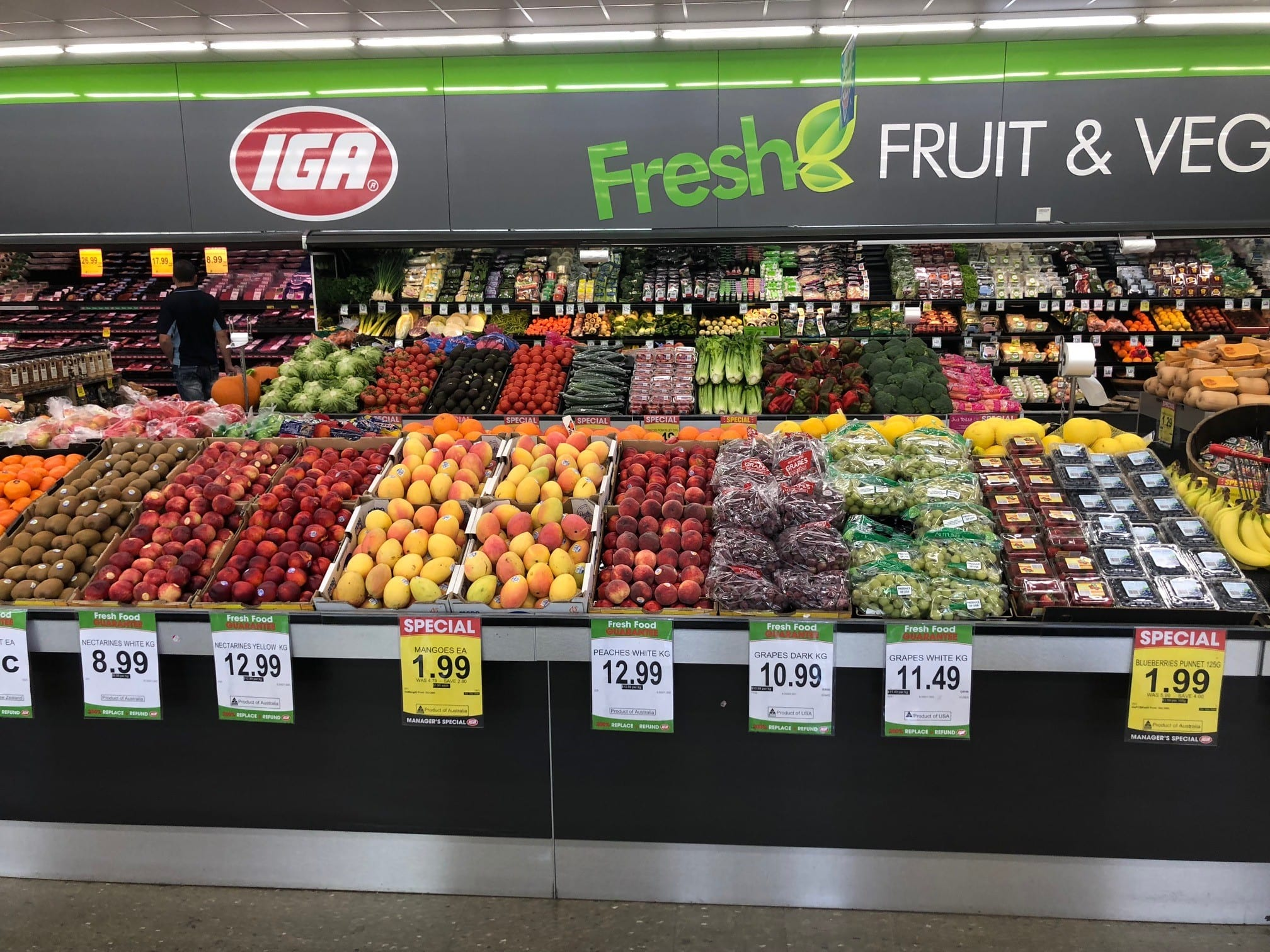 IGA Fresh - ins-store Fruit and Veg