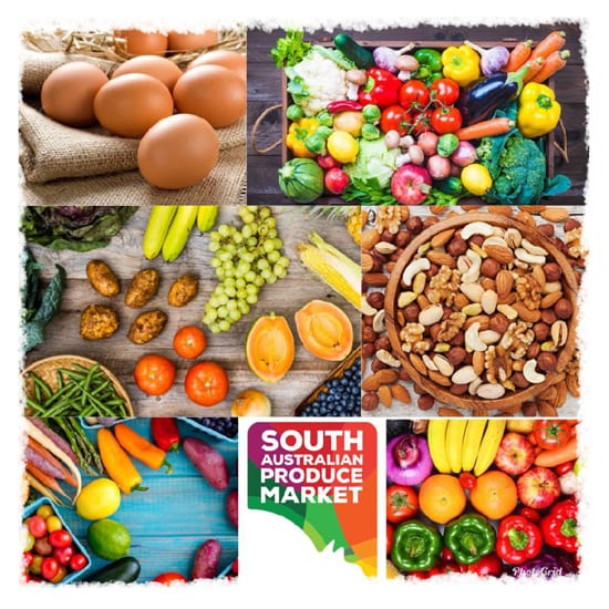 IPS - South Australian Produce Market - white background