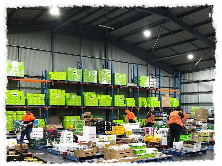 IPS - Warehouse Order Assemblers at work