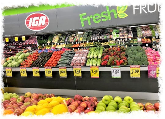 Why IPS - Independent Produce Suppliers - IGA Fruit & Veg Section